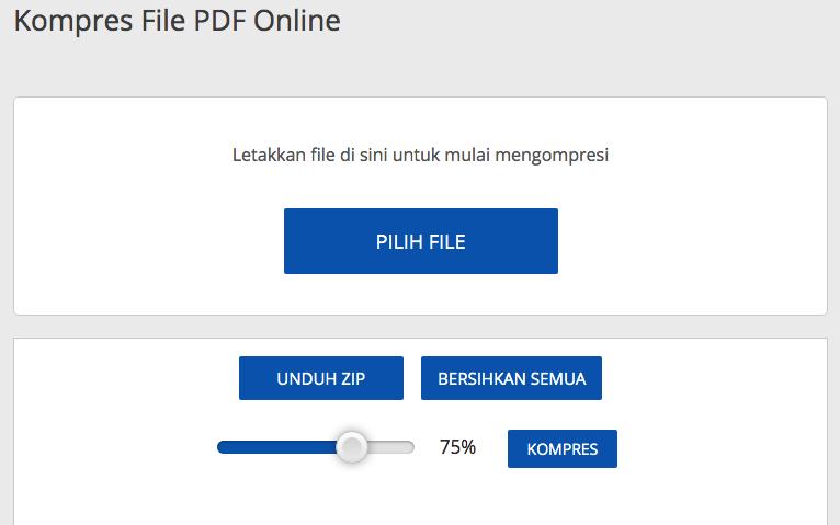 Kompres File PDF Online
